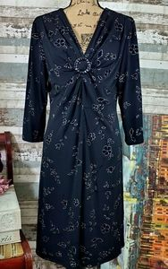 S.L. Fashions Spandex Dress, Size 16, EUC